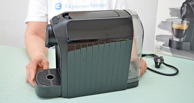 Tchibo Kapselmaschine Cafissimo Easy im Test - Pumpendruck: max. 15 bar; Schalldruckpegel: