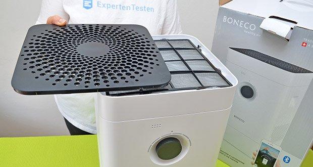 BONECO Hybrid Luftbefeuchter & Luftreiniger H300 im Test - hochwertige Komponenten mit langer Lebensdauer