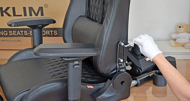 KLIM Esports Gaming Stuhl im Test - hochwerige Qualität & ausgezeichneter Komfort