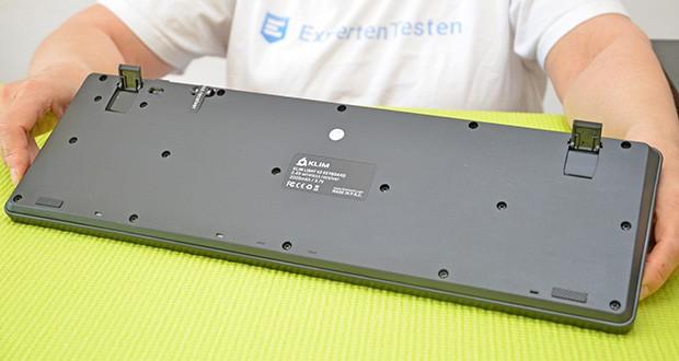 KLIM Light V2 Gaming Tastatur im Test - hergestellt aus ABS, einem besonders widerstandsfähigen Thermoplastik