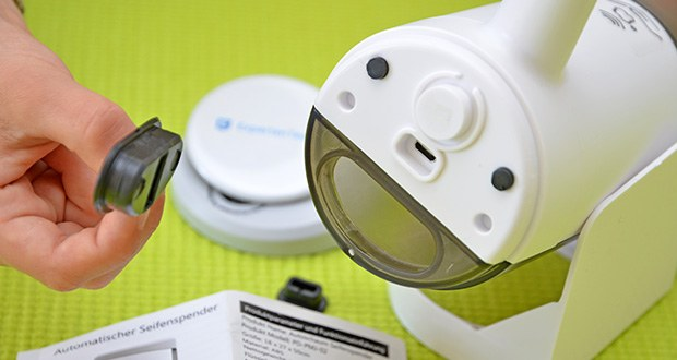 Farsaw Automatischer Seifenspender im Test - mit einer 450ml große Kapazität