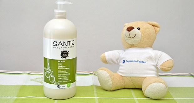 SANTE Naturkosmetik Repair Shampoo Bio-Olivenöl & Ginkgo im Test - mit rein natürlichem, aromatischen Vanilleduft