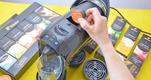 Tchibo Cafissimo Kapselkoffer Spesial Collection im Test - die große Kapselauswahl Caffè Crema, Kaffee und Espressi lädt jeden Tag aufs Neue zum Ausprobieren ein