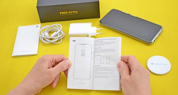 Xiaomi Smartphone Poco X3 Pro im Test - verbesserte Fallleistung, übersteht Stürze von bis zu 1,6 m auf harte, raue Oberflächen