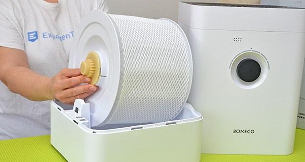 BONECO Hybrid Luftbefeuchter & Luftreiniger H300 im Test - unglaublich einfach zu reinigen