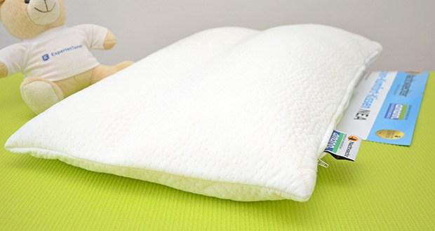 Nachtwaechter Nacken Komfort Kissen NEA im Test - kuscheliges und hochkomfortables Schlafgefühl