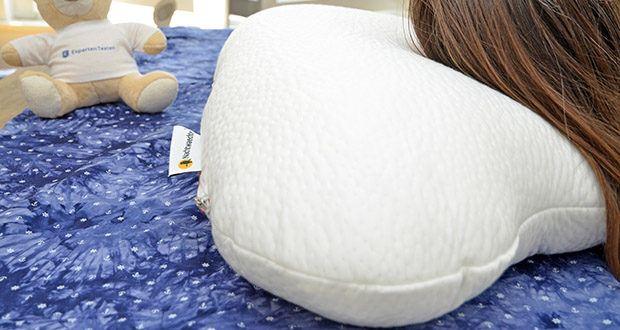 Nachtwaechter Seitenschläfer- und CPAP Kissen LINA im Test - besonders gut geeignet für Seitenschläfer und Träger von CPAP-Masken
