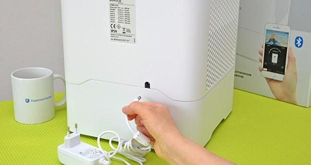 BONECO Hybrid Luftbefeuchter & Luftreiniger H300 im Test - niedriger Stromverbrauch