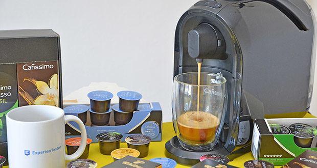 Tchibo Kapselmaschine Cafissimo Pure im Test - reduziert auf das Wesentliche und mit funktionalem, praktischem Design passt die Cafissimo PURE perfekt in jede Küche