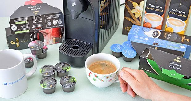 Tchibo Kapselmaschine Cafissimo Easy im Test - verbindet einfachste Bedienung und modernstes Design mit höchstem Kaffeegenuss