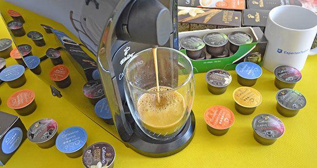 Tchibo Kapselmaschine Cafissimo Pure im Test - für perfekten Espresso, Caffè Crema und Kaffee auf Knopfdruck