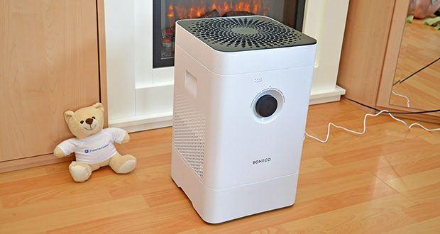 BONECO Hybrid Luftbefeuchter & Luftreiniger H300 im Test - sorgt für echtes Wohlbefinden in Ihrem Zuhause