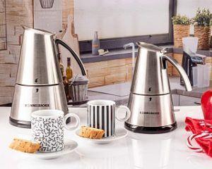 Espressokocher aus dem Test und Vergleich richtig reinigen