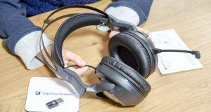 Wird mit dem Headset Musik gehört