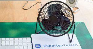 Wie hilft der Tischventilator für eine bessere Luftzirkulation im Vergleich?
