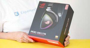 Ein Headset ist ein mit einem Mikrofon kombinierter Kopfhörer.