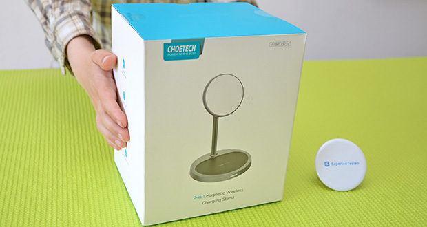 Choetech MagSafe kabellos Ladegerät 30W im Test - wurde speziell für das iPhone 12/12 mini / 12 Pro / 12 Pro Max entwickelt