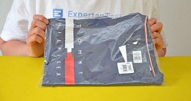 Tommy Hilfiger Herren Global Stripe Chest Tee T-Shirt im Test - Modellnummer: MW0MW16572