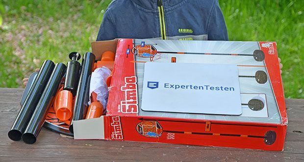 Simba Basketball Set im Test - Produktabmessungen: 33 x 10 x 41 cm