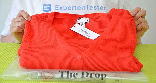 The Drop Rippstrickjacke Anya im Test - Basics von The Drop