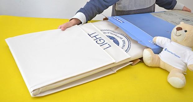 WENKO Wäschekorb Duo Sylt im Test - mobile und faltbare Wäschetruhe