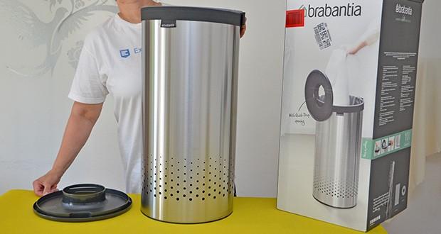 Brabantia Wäschebox 35L im Test - ist 63 cm hoch