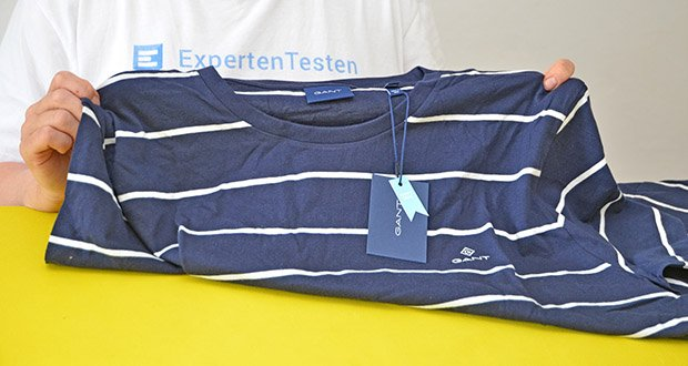 GANT Herren Breton Stripe Ss T-Shirt im Test - Modellnummer: 2023001