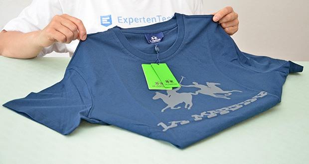 La Martina Herren Ramon T-Shirt im Test - Gerader Schnitt