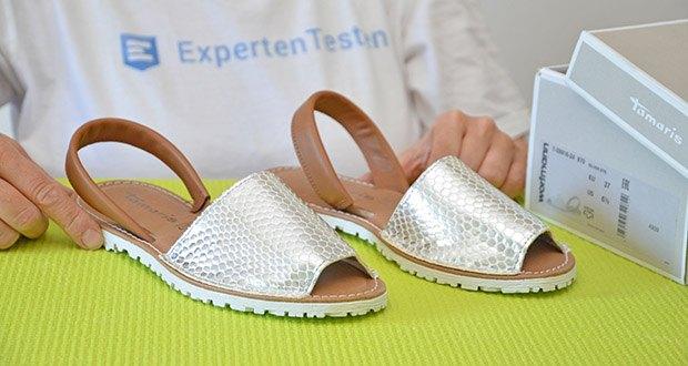 Tamaris Damen Slingback Sandalen im Test - Absatzhöhe: 1 Zentimeter