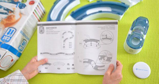 Catit Design Senses Play Circuit im Test - die Spielschiene spricht den Seh-, den Hör- und den Tastsinn der Katze an und wurde speziell konstruiert, um sie zu locken, zu beschäftigen und zu unterhalten