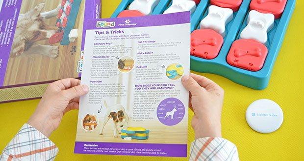 Outward Hound Interaktive Leckerli-Denkspiele für Hunde im Test - Langeweile Buster: Puzzles Leckerli-Fächer halten Ihren Hund beschäftigt