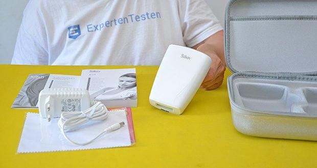 Silk'n Jewel Luxx IPL Haarentfernung im Test - Touch&Glide-Technologie: schnelleres Enthaaren mit dem automatischen Lichtblitzsystem