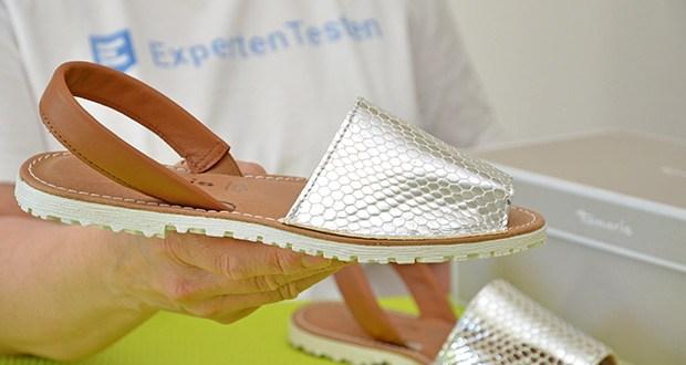 Tamaris Damen Slingback Sandalen im Test - outer Material: Leder