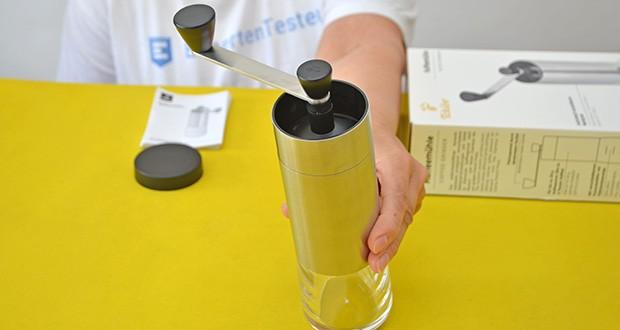 Tchibo Handmühle im Test - Kaffee jederzeit frisch von Hand mahlen