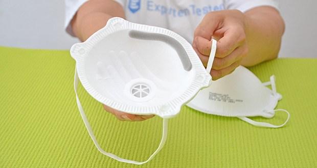 Transatlantic Atemschutzmasken FFP3 NR, mit Ventil und Kopfband im Test - maximaler Schutz durch geringe Leckage