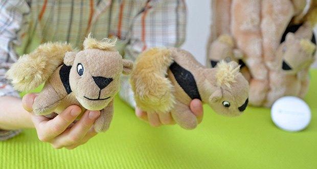 Outward Hound Plüsch-Hundespielzeug im Test - weiches Plüschmaterial