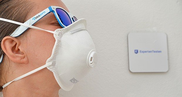 Transatlantic Atemschutzmasken FFP3 NR, mit Ventil und Kopfband im Test - höchster Tragekomfort durch anatomische Passform