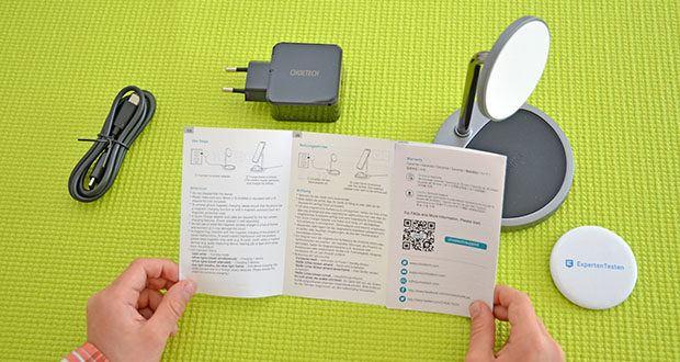 Choetech MagSafe kabellos Ladegerät 30W im Test - der neueste PD 3.0-Adapter mit fortschrittlicher Technologie kann automatisch Spannung und Strom entsprechend Ihren Geräteanforderungen erkennen und bereitstellen