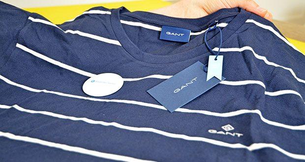 GANT Herren Breton Stripe Ss T-Shirt im Test - Regular Fit