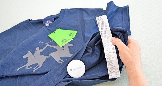 La Martina Herren Ramon T-Shirt im Test - Pflegehinweis: Maschinenwäsche