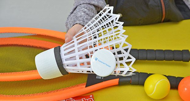 Simba Giant Badminton Set im Test - Länge: 66cm