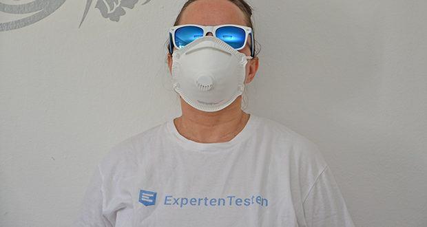Transatlantic Atemschutzmasken FFP3 NR, mit Ventil und Kopfband im Test - filtert 99% aller Partikel und Aerosole
