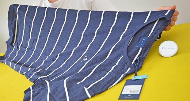 GANT Herren Breton Stripe Ss T-Shirt im Test - 100% Baumwolle