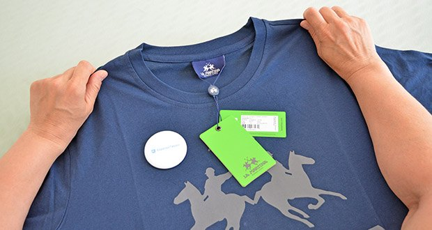 La Martina Herren Ramon T-Shirt im Test - 100% Baumwolle