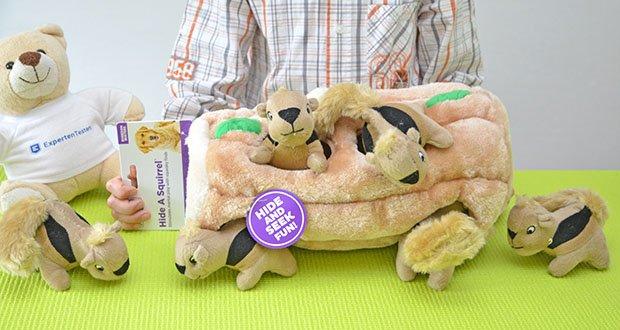 Outward Hound Plüsch-Hundespielzeug im Test - robustes Plüsch-Hundespielzeug für Apportier- & Ziehspiele