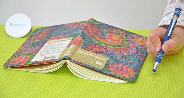 Paperblanks Olenas Garten Mondlicht Notizbuch im Test - ein ausgesprochen schönes Notizbuch