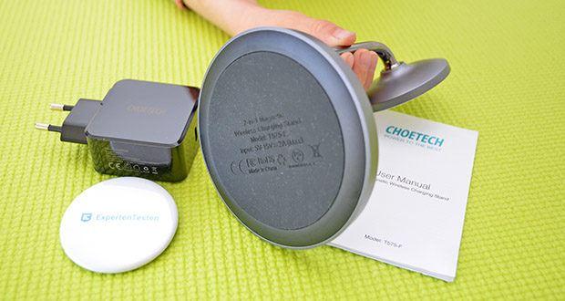 Choetech MagSafe kabellos Ladegerät 30W im Test - der Wärmeschutzsensor und die Erkennung von Fremdkörpern ermöglichen ein schnelles und sicheres kabelloses Laden