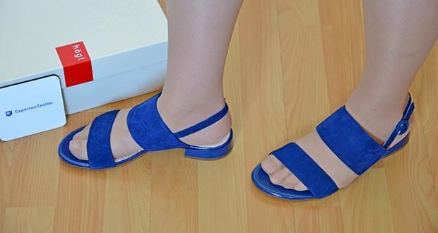 Högl Damen Sandaletten Merry im Test - super bequem ab dem ersten Tritt