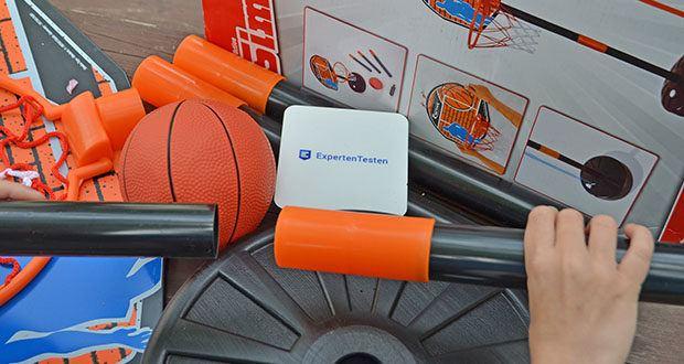 Simba Basketball Set im Test - Ständer bis 160 cm höhenverstellbar