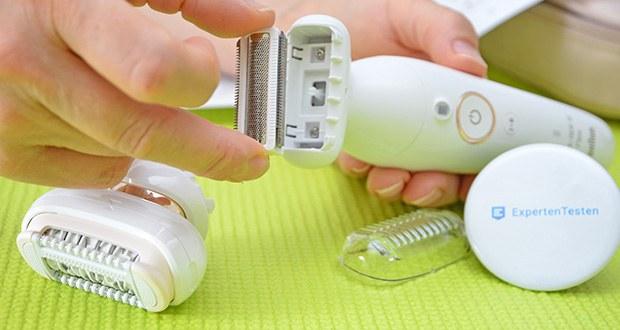 Braun Silk-épil 9 Flex 9020 Epilierer im Test - inklusive Rasieraufsatz, der anstelle des Epilieraufsatzes in empfindlichen Bereichen verwendet werden kann